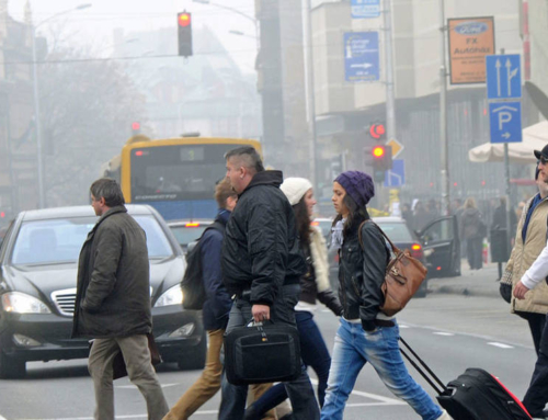 Az egészségre káros a város levegője (Bama.hu)
