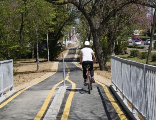A Zsolnay-negyedtől a Budai vámig: a keleti városrésznek is van már saját bringaútja